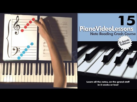 Learn to Play Piano Lesson 15:(All 21 Notes) Sheet Music Note Reading Crash Course
