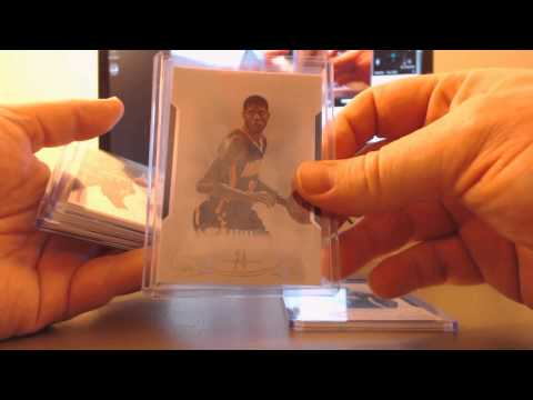 All Indiana Pacers in 10 cases of National Treasures #1