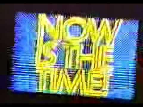WABC Now is the time, Channel Seven is the place 1981 Promo