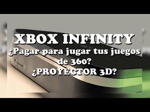 Xbox Infinity pagar por retrocompatibilidad? Proyector 3D?