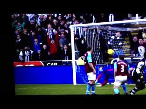 Papiss Cisse goal vs Aston villa