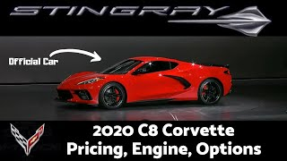2020 MId Engine Corvette C8 Revealed! Everything You Should Know