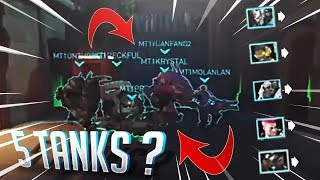 5 TANKS IS THE NEW META!- OVERWATCH WTF FUNNY MOMENTS MONTAGE!