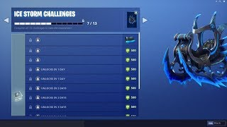 Fortnite *ICE KING EVENT* LIVE! | EXCLUSIVE ICE STORM CHALLENGES GUIDE | Fortnite PS4 Livestream