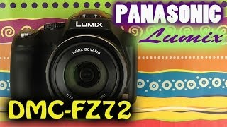 Распаковка Panasonic Lumix DMC-FZ72 Black