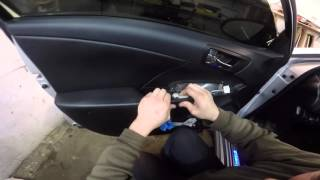 Toyota Camry  2015  disassembly door ( Тойота Камри  Разборка двери )