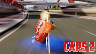 Cars 2 [HD] with Hook, Mater, Lightning McQueen, Holley, Luigi, Guido, Piston Cup #41 Gameplay