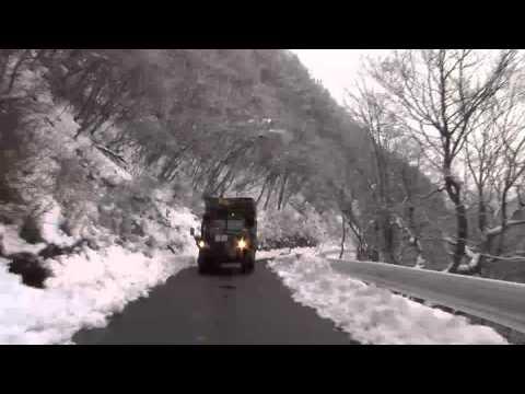 いすゞ ボンネットトラックTW 走行映像