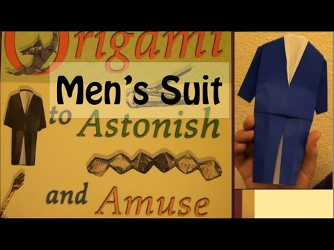 Fold an Origami Men s Suit by Jeremy Shafer