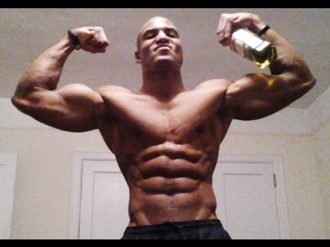 Drink Olive Oil To Build Muscle Mass Faster (Big Brandon Carter)