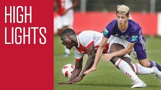 Highlights Ajax O19 - Anderlecht U21