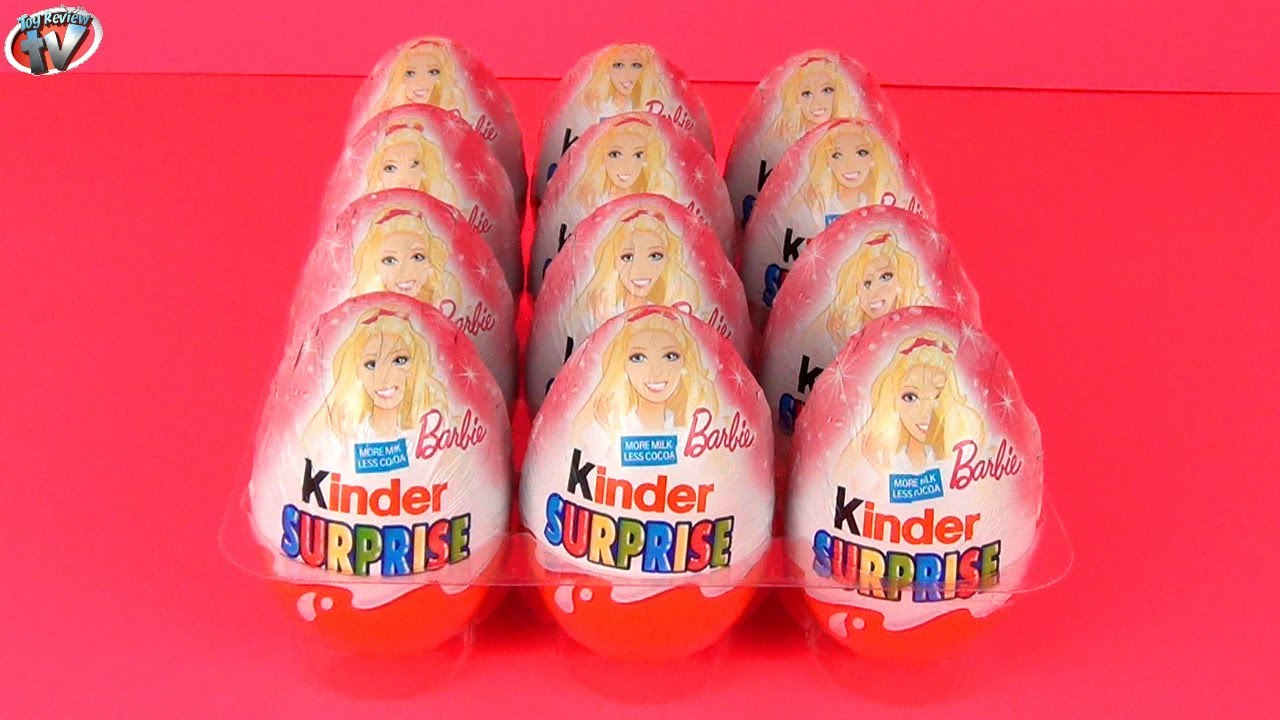 Surprise barbie i can be toy eggs opening amp kids toy review youtube