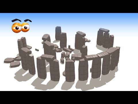 CUBE BUILDER for KIDS (HD) - Build a Stonehenge for Children - AApV