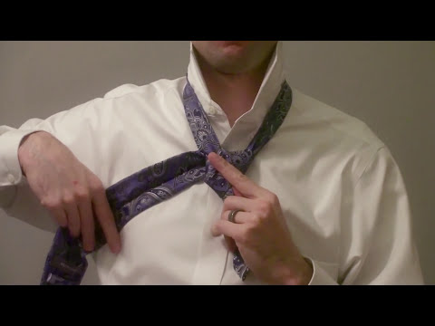 How to Tie a Tie (Slowly) - Full Windsor Knot
