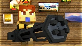 Minecraft - WHO'S YOUR DADDY? - BABY BLOWS UP THE HOUSE!