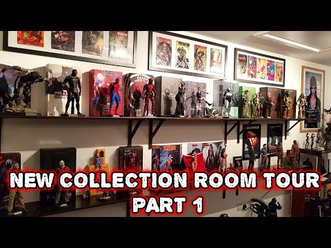 NEW HOT TOYS FIGURE COLLECTION ROOM TOUR PART 1
