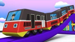 Snow City - Chu Chu Train - Trains for Kids - Cartoon Cartoon - Kids Videos for Kids - Toy Factory