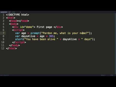 Javascript Tutorial 3  Strings