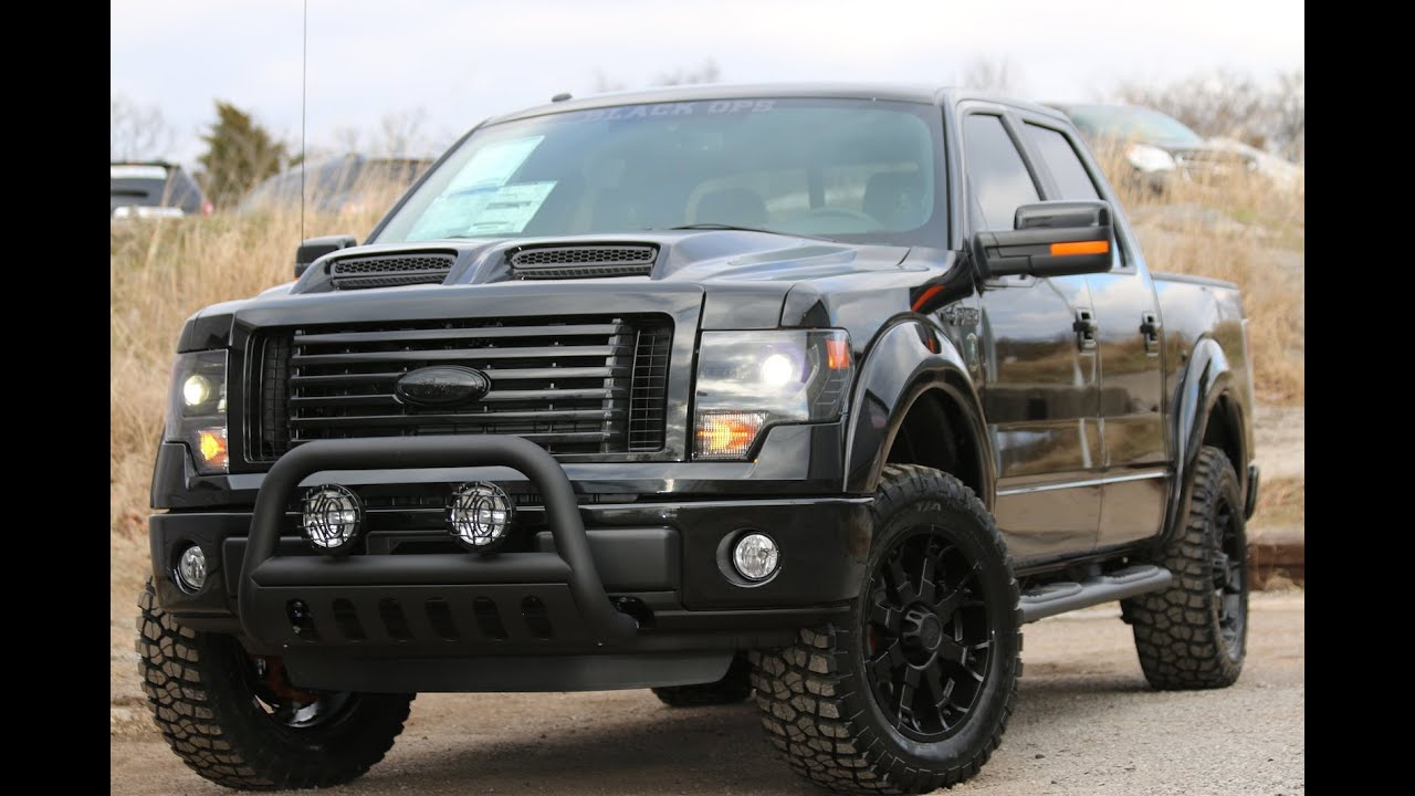 "2014 F150 Black Ops 2"" Level by Tuscany - Ford Of Murfreesboro"