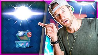 YESS!! • BEST LEGENDARY CHEST!! • Clash Royale Chest Opening!