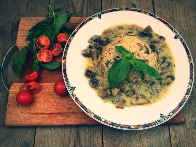 Ризотто с грибами // Risotto with mushrooms