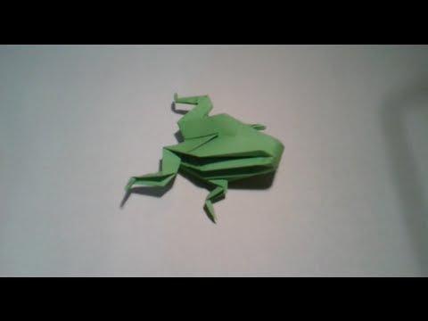 Origami - Como hacer una rana 3D