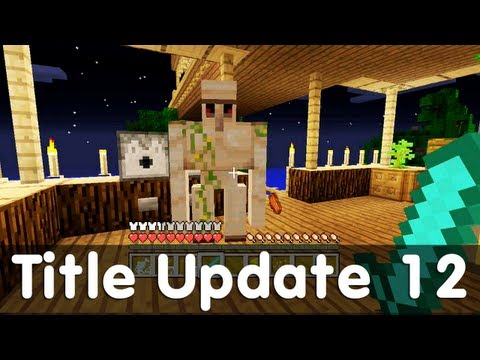 Minecraft Xbox 360 Edition - Title Update 12 - Additions + News + Features