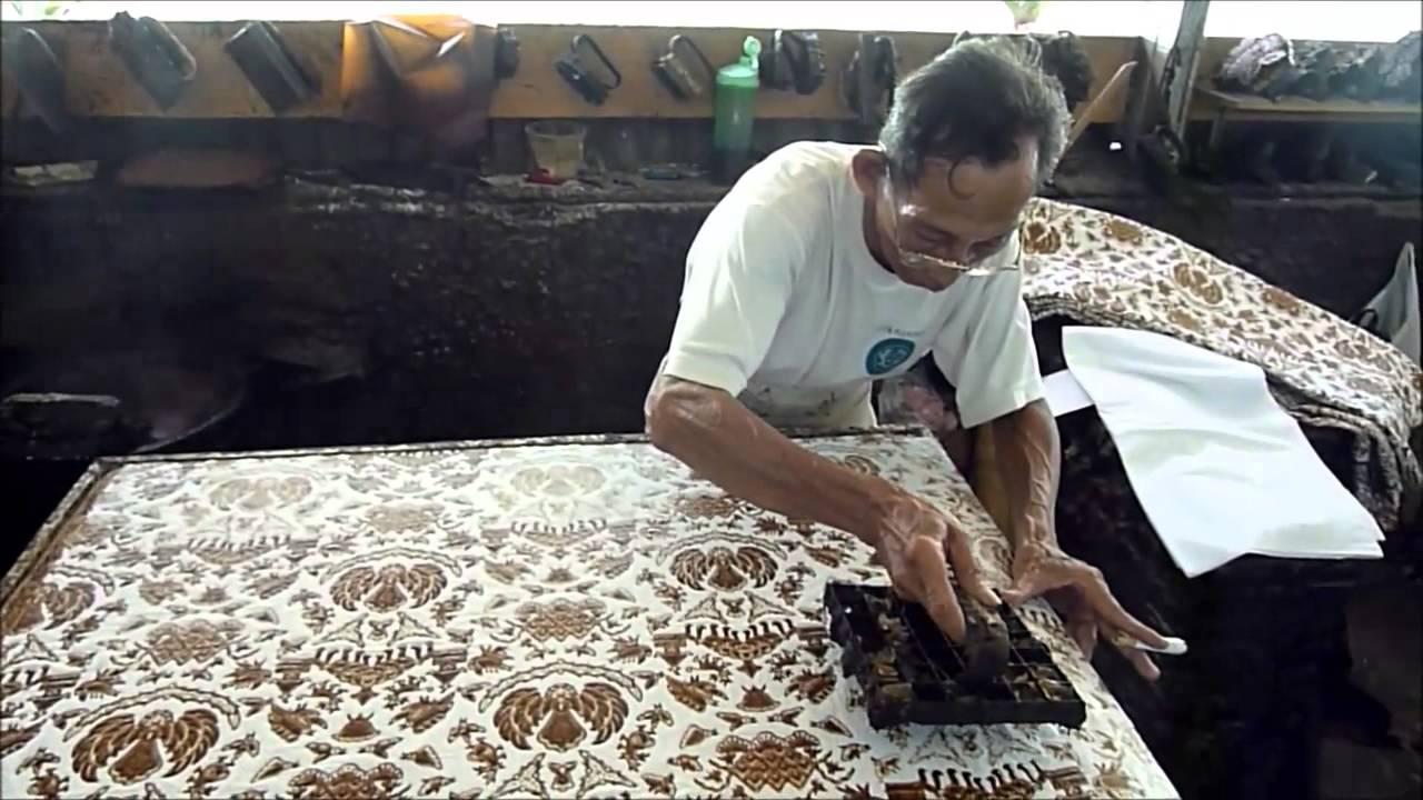 Batik Making Applying Wax