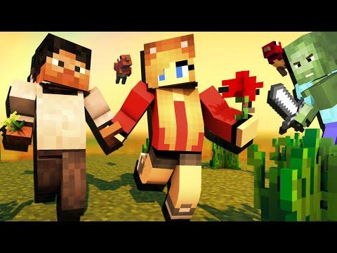 ВНЕЗАПНО ПОДКРАЛСЯ - Minecraft с Девушкой #5