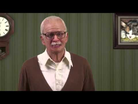 Jackass Presents Bad Grandpa   National Grandparent's Day PSA #1 HD) Johnny Knoxville