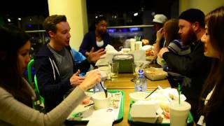 video On This Chilly evening, 6 first time Burger Tourists join in for a round of Burgers from Wahlburgers. Come and check it out.