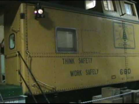 Maine Central Caboose # 660 Video Tour