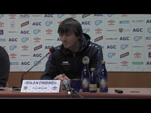 Tisková konference hostujícího trenéra po utkání s Hradcem Králové (5.11.2016)