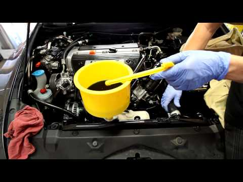 2003-2007 Honda Accord Coolant drain and refill