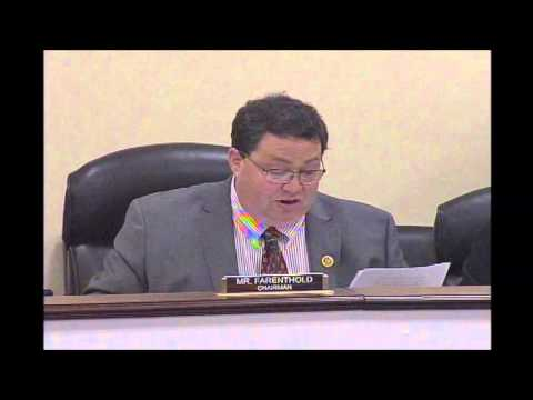 Rep. Farenthold Chairs House Oversight Hearing on OPM's $2 Billion Revolving Fund