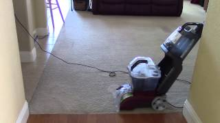hoover power scrub deluxe carpet washer manual