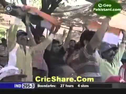 Ms Dhoni Helicopter Shot Vs Westindies 2007 video