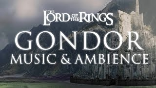 Lord Of The Rings Music Ambience Gondor Morning Rain And Thunder At Minas Tirith