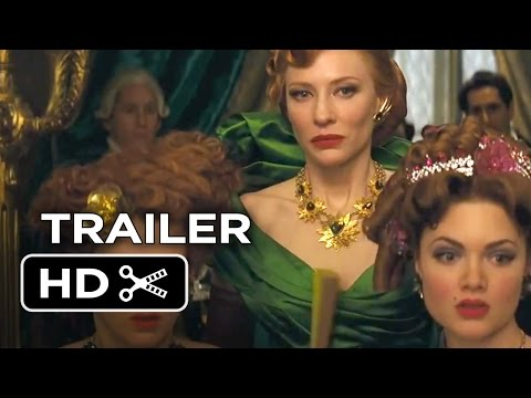 Cinderella TRAILER - Midnight Changes Everything (2015) - Cate Blanchett Movie HD