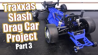 The Go FAST Build Continues! - Traxxas Slash RC Drag Car Project - Part 3 Rear Assembly | RC Driver