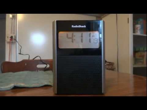 Product Review: RadioShack Projection Clock Radio (12-591)