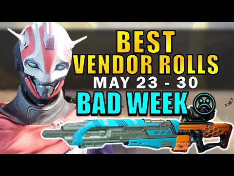 Destiny: BAD WEEK :( | BEST VENDOR ROLLS! (May 23 - 30) Age of Triumph