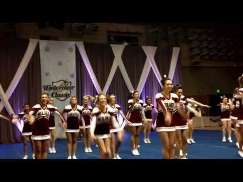 South kitsap high school cheerleaders. winter cheer classic 2014