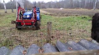 Plowing timelapse with foton 254