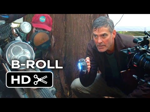 Tomorrowland B-ROLL 1 (2015) - George Clooney, Britt Robertson Movie HD