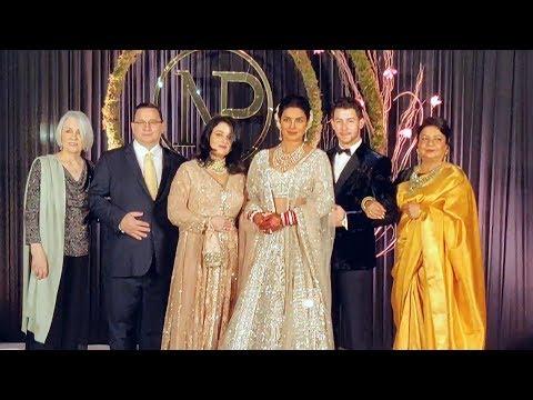 Priyanka Chopra And Nick Jonas Grand Wedding Reception In Delhi