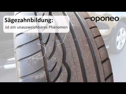 Ungleichmäßiger Reifenverschleiß ● Ratgeber Oponeo™