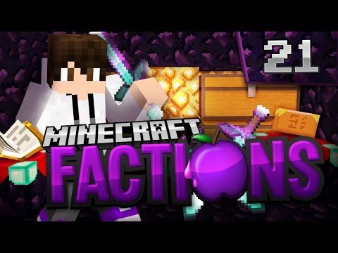 Minecraft Factions Let's Play: E21 - Rich Unclaimed Sky Vault Raid!