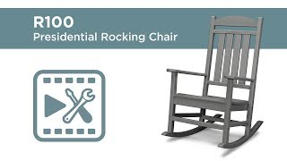 POLYWOOD® R100 - Presidential Rocking Chair Assembly Video
