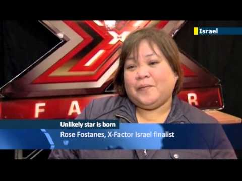Filipino caregiver finds fame on Israeli X-Factor: Rose Fostanes says show has transformed her life